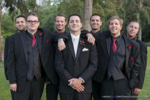 groomsmen at wedgewood photographer