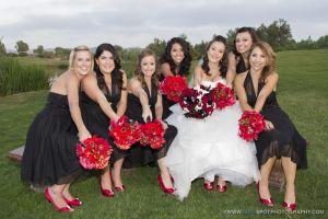 pretty bridesmaids at wedgewood fallbrook