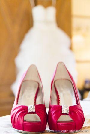 wedding dress at wedgewood