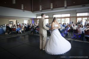 couples wedding first dance