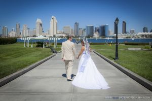san diego wedding city view